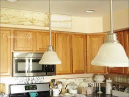 Retro Bar Cabinet Unusual Wooden Kitchen Cabinet Little Cone Pendant Light Counter
