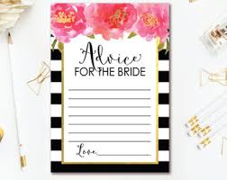 to be cards bridal shower advice cards advice for the to be bridal