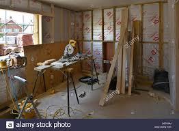 Bedroom Construction Design Construction Work In Progress To Interior Of Bedroom Extension To