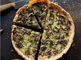 cuisine quiche roasted brussels sprout and gruyère quiche recipe billy allin
