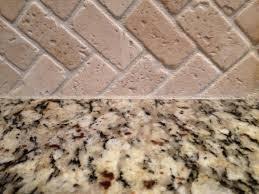Stacked Stone Kitchen Backsplash by Caulking Kitchen Backsplash At A Time Diy Blog How To Caulk