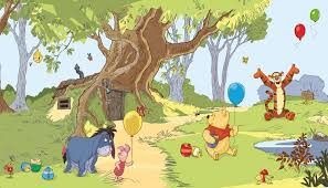 Popular Characters Murals Roommates Winnie The Pooh Wall Murals Huge Realistic Wall Decor Extra