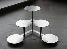 tortenstã nder hochzeitstorte 6er tortenständer design edelstahl 5786 ebay