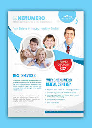 dentist flyer template by graphicersan graphicriver