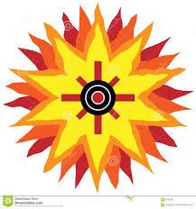 southwestern designs southwestern sun design stock vector illustration of 6162491
