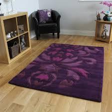 purple plum area rug bilbao kukoon