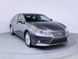 lexus sedan sale used 2013 lexus es 300h hybrid sedan for sale in miami fl 85253