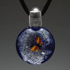 cremation jewlery glass cremation jewelry s peace
