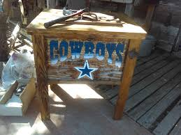 dallas cowboys ice chest u2014 frontier rustic store