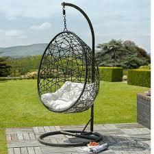 hanging rattan swing chair balcony egg swings seat rocking chairs