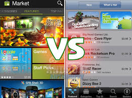 android market app android market vs apple itunes app store android authority