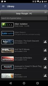 steam to android steam app updated to v2 0 with semi material ui battery use fixes
