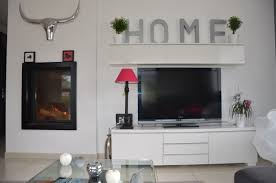 decor cheminee salon indogate com salon cheminee contemporain