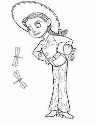 toy story jessie horse coloring pages toy story coloring