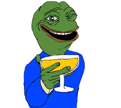 Meme D - pepe well meme d transparent png stickpng