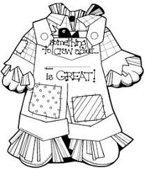 coloring pictures scarecrows free printable scarecrow
