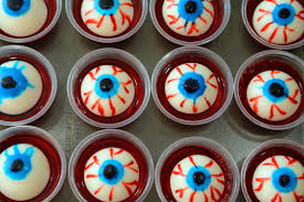 halloween treats adults only eyeball jell o shots halloween