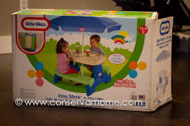 little tikes easy adjust play table little tikes easy store jr play table review giveaway conservamom