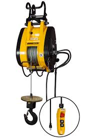 Electric Cable 1000 Lb Capacity Electric Hoist Cable 90 Ft Lift