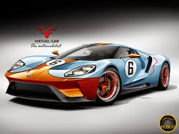 gulf racing motorcycle this ford gt looks ready for track action in gulf racing and 1965