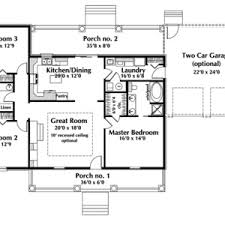 one floor plans one floor small house plans plan rooms modern bed