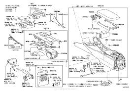 lexus parts worldwide console box u0026 bracket lexus part list jp carparts com