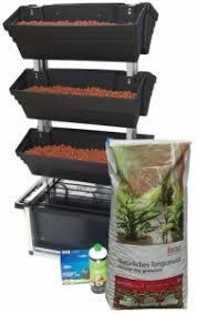 wall garden 6 pot hydro kit the aquaponics place