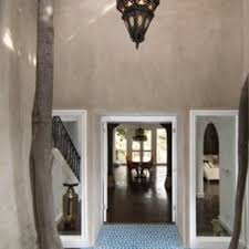 Fez Bookcase Room Custom Fez Blue And White Cement Tile Entryway By Granada Cement