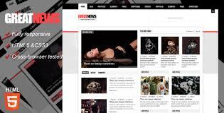 great news magazine responsive template by kopasoft themeforest