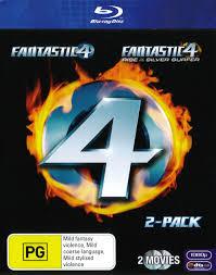 fantastic 4 2 pack blu ray fantastic fantastic rise