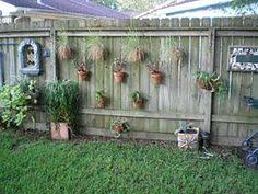 image gallery outdoor fence decorating ideas