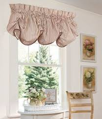 Kitchen Curtains Valance by Sturbridge Star Embroidered Lined Pointed Curtain Valance By Park