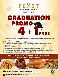 cuisine en promo manila shopper graduation 2018 blowout promos