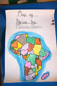 africa map by year drawing the map of africa the troutbeck school