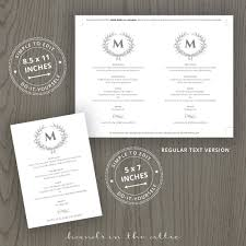 5 course menu template wedding food menu appetizers wedding paper divas the