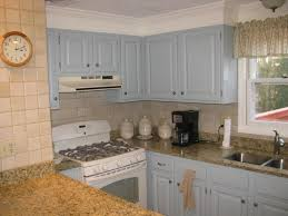 Spray Paint Cabinet Hinges by Gray Blue Or Cream Style Cream Painted Kitchen Cabinets In Paint