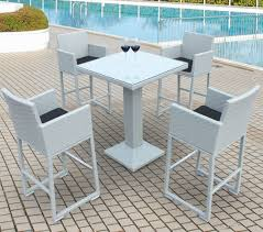 outdoor bar table round exclusive outdoor bar table