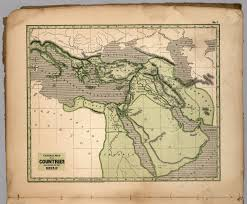 no 1 general map of the countries mentioned in the bible david