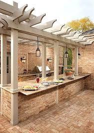 kitchen outdoor kitchen ideas on a budget this modern has