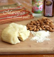 best homemade marzipan or almond paste the daring gourmet