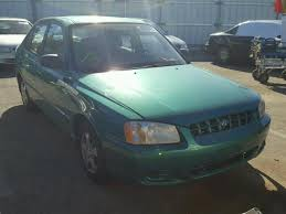 hyundai accent 2001 for sale salvage title 2001 hyundai accent sedan 4d 1 6l 4 for sale in