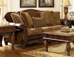 north shore sofa fresco durablend antique traditional stationary loveseat with
