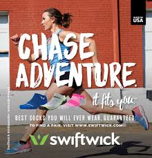 how swiftwick tells its story through real athletes and real