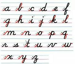 cursive writing random continues pinterest cursive improve