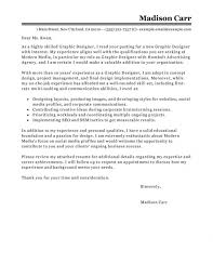 cover letter examples graphic design position