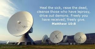 matthew 10 8 bible verse dailyverses net