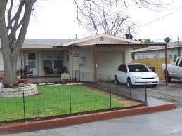 Covered Patio San Antonio by Single Car Lean To Carport With Patio Cover New Braunfels Texas