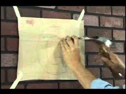 installing gemini formed letters on a brick wall youtube