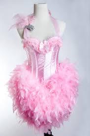 Las Vegas Showgirl Halloween Costume Pink Flamingo Halloween Costume Tooo Cute Festive Decor