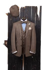 brown country suit with bow tie u0026 flat cap u2013 from jack bunneys